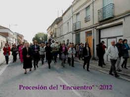 """Procesión de """"El Encuentro - 2012"""""""